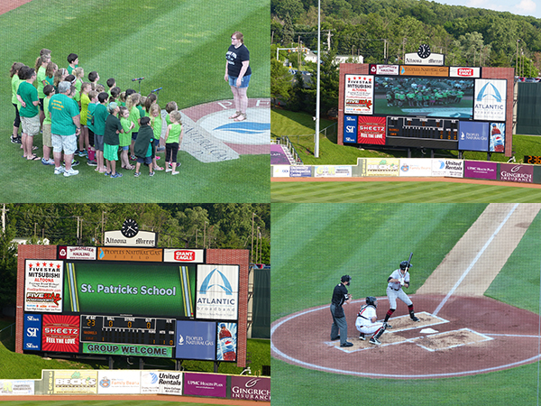 NIght at the Altoona Curve Game